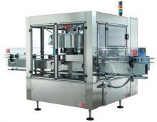 Этикетировочный автомат  для наклеивания бумажной этикетки с помощью горячего клея