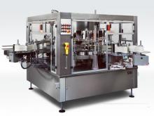 Этикетавтомат для нанесения самоклеющихся этикеток до 24000 бутылок в час