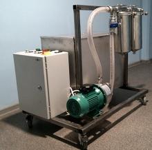 Установка для циркуляции и очистки воды для ополаскивателя